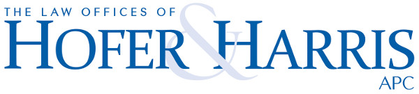logo for The Law Offices of Hofer & Harris APC